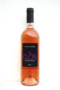 Clos Saint-Vincent Le Clos Bellet rosé 2016