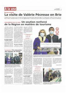 Read more about the article La visite de Valérie Pécresse en Brie