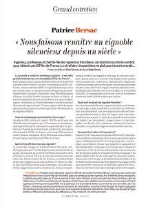 Grand Entretien | Patrice Bersac