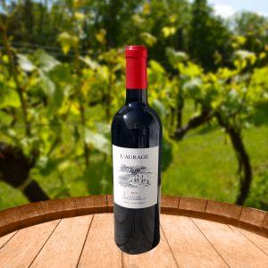 Mtjavile Côtes de Bordeaux Castillon L'Aurage rouge 2013